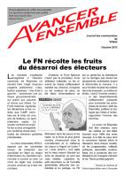 Journal des communistes de Villabé octobre 2013