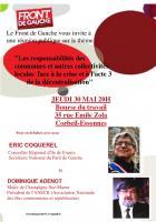 Les communes face à l'austérité: réunion publique le 30 mai