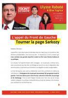 Ulysse Rabaté et Élise Yagmur, candidats de la 1re circonscription, appellent à battre Sarkozy