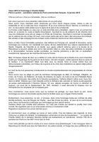 Discours de Pierre Laurent voeux 2015