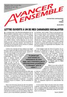 Journal des communistes de Villabé avril 2013