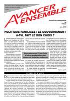 Journal des communistes de Villabé juin 2013