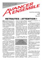 Journal des communistes de Villabé mars 2013