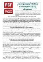 Pour la défense des équipements publics à Corbeil-Essonnes